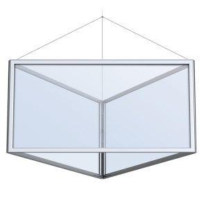 Triangular Perfex Sky Frame