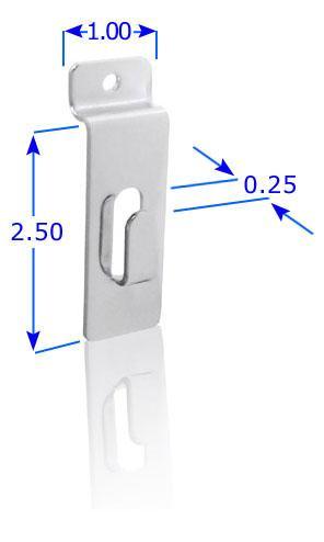 Free Standing SlatWall Utility Hook
