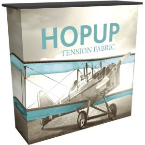 HopUp Counter Tension Fabric Display
