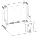 Hyperlite Hybrid Truss Extrusion Display System 10 x 10 SQ frame