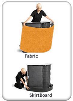 fabric-skirtboard