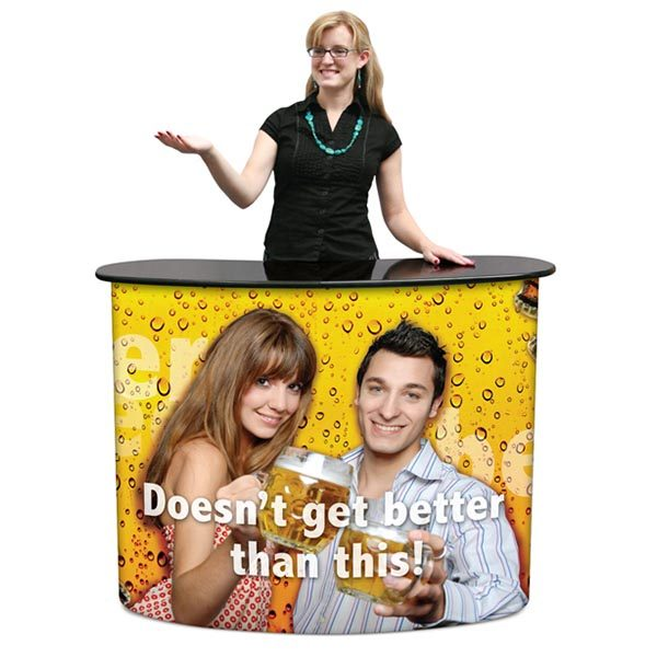 Portable Trade Show Pop Up Counter Display