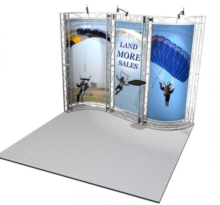 Sausalito EZ-6 Kit for 10x10 Booths