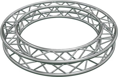 Square Truss Circle Ring F34