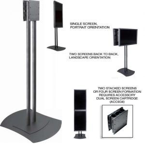Flat Panel Free Standing TV Stand