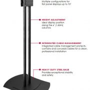 Peerless-Flat-Panel-Freestanding-Monitor-Stand-Benefits-FPZ-600