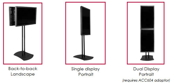 Peerless Flat Panel Mount Options FPZ-600