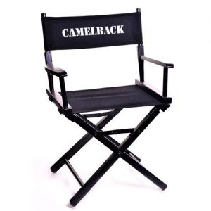 Black Director Chair with Logo