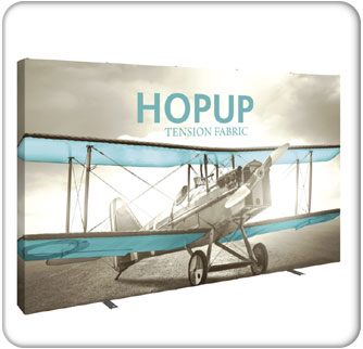 13ft hopup tension fabric displays