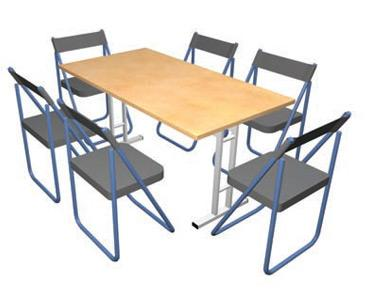 Pack Stuff Rectangle Conference Table Sets