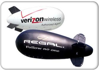 Inflatable Displays Blimps