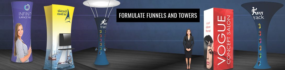 Formulate Funnels and Towers Displays