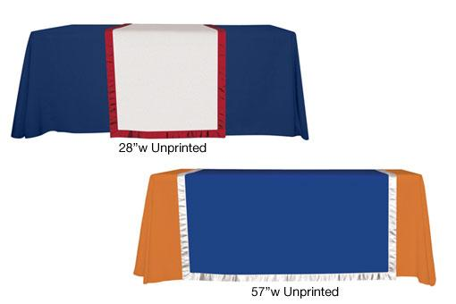 Unprinted Accent Runner