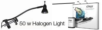 50 W halogen light