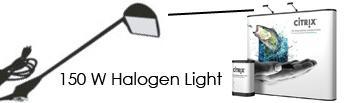 150 W halogen light