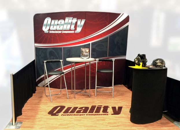 EZ TUBE Trade Show Tension Fabric Displays