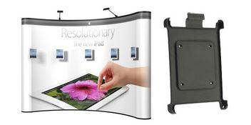 energy x 10ft curved pop up with ipad mounts