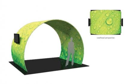 Formulate Arches and Conference Walls Displays Arch