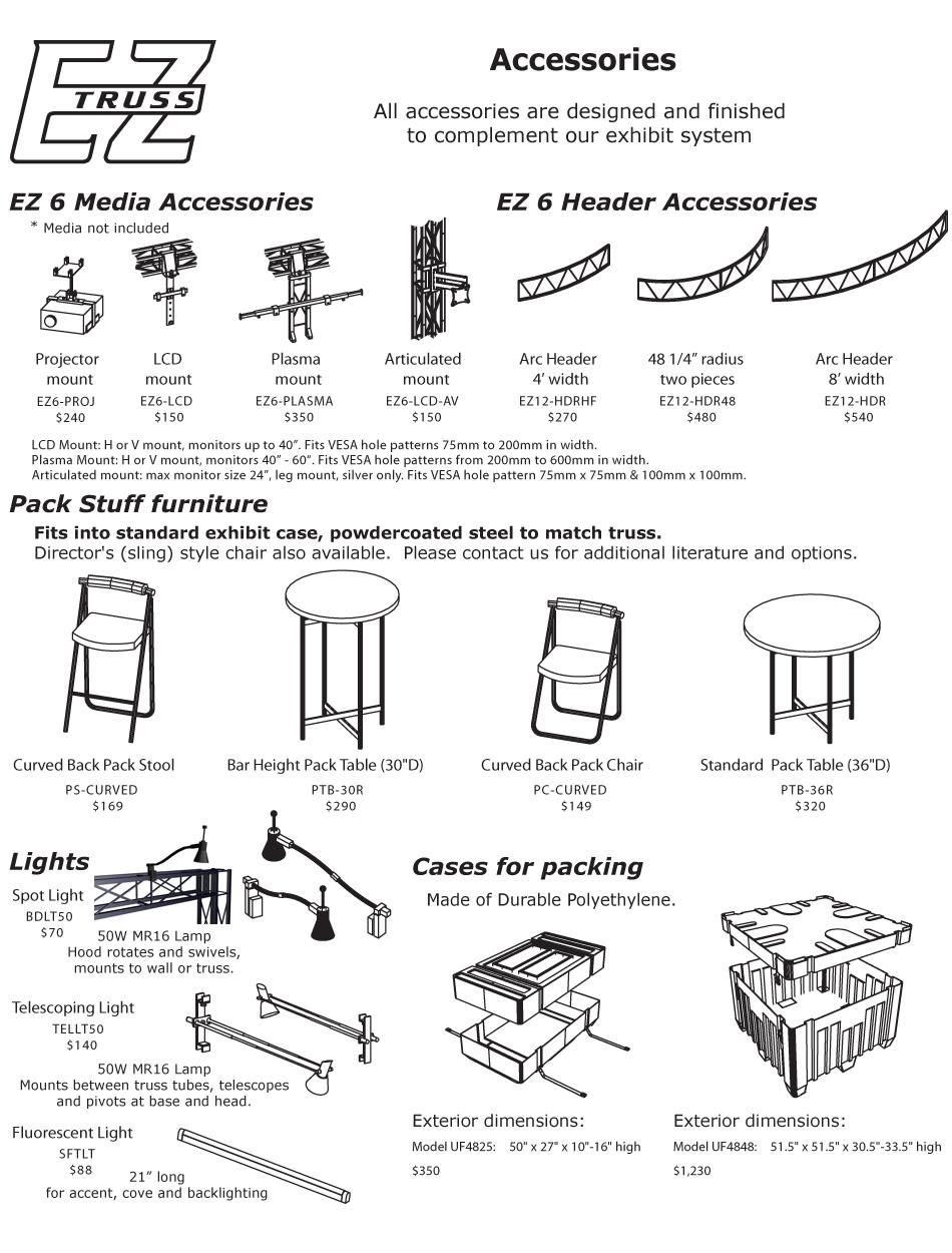 EZ-6 Truss Parts
