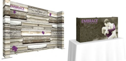Embrace Tension Fabric Displays