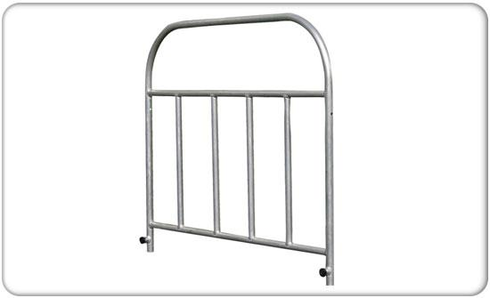 4x40 duro deck stage guard rail