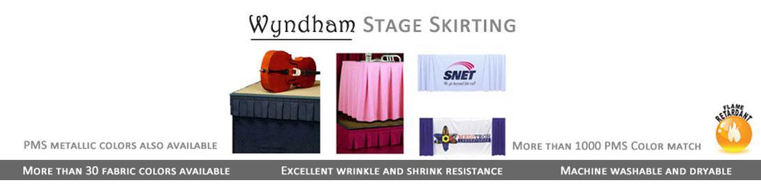 wyndham stage skirting