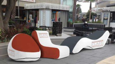 Inflatable Furniture Display