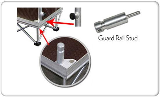 guard rail stud