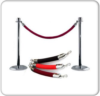 Red Carpet Stanchions and Crowd Control