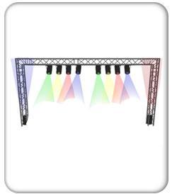 Aluminum Stage Truss