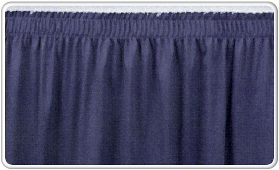 Shirred Pleat Skirting