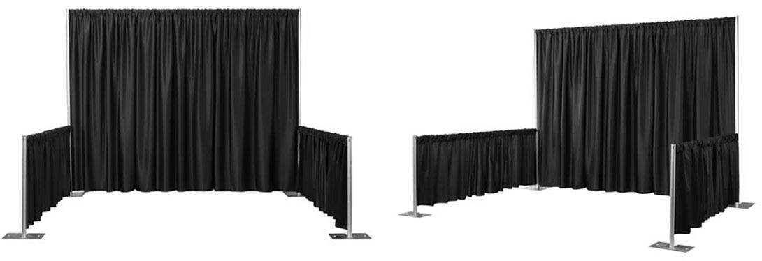 Pipe And Drape Systems Exhibit Display Booths Pipe