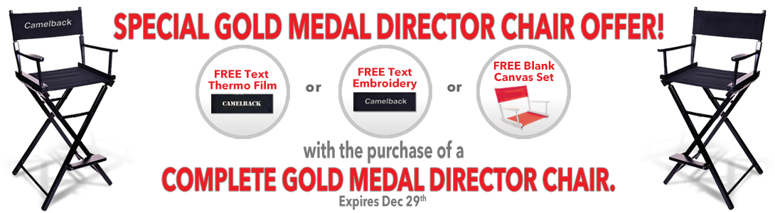 gold medal director chairs promotion