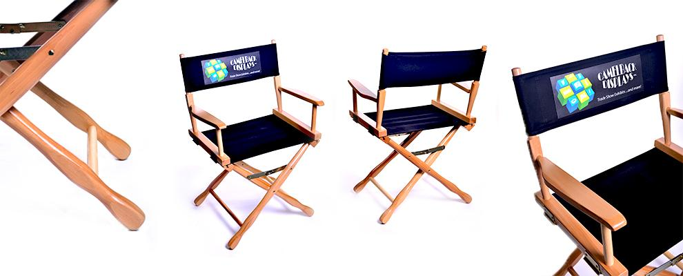 Logo Directors Chairs