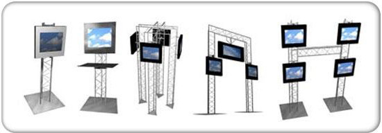 Monitor Truss and Truss Podiums