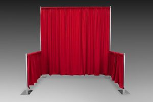 Poly Premier Pipe and Drape Display