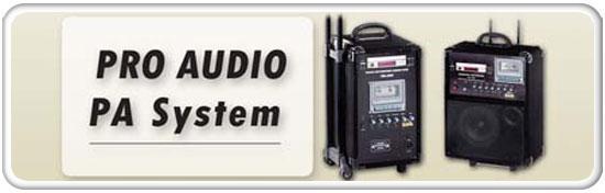 Pro Audio PA System