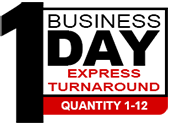 1 business day turnaround