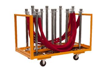 Medium Stanchion Cart