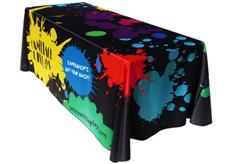 Full Color Wyndham Table Throw Cover