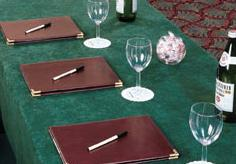 geneva conference tablecloths