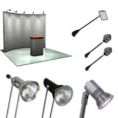 trade show display lights