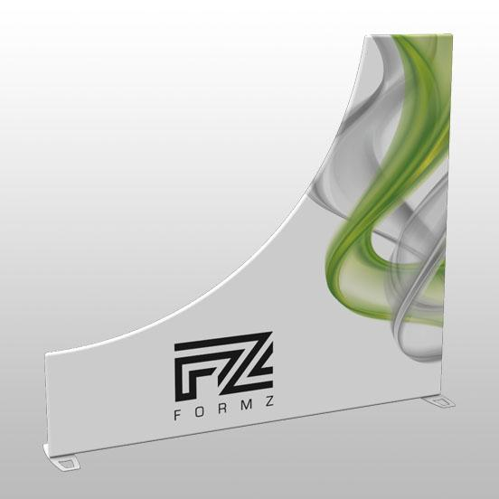 Formz Sidewalls Half Pipe Display