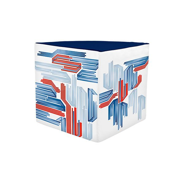 "Portable Trade Show Furniture 18""x18"" Foam Display - Wedge"
