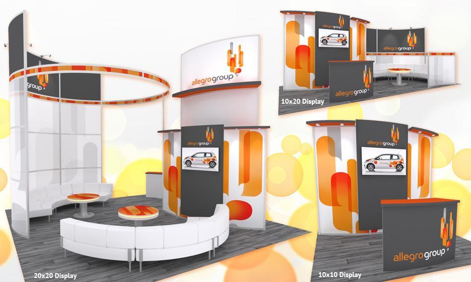 Zippity Doo Dah Trade Show Displays