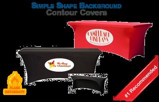 Simple Shape Background Contour Covers