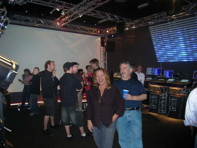 Truss Multimedia Gaming Room