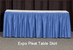 Banjo Cloth Table Skirt