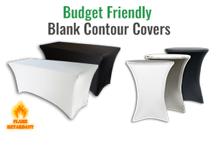 Budget Friendly Spandex Table Cover Thumbnail