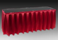 Poly Premier Box Pleat Table Skirt